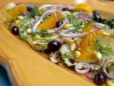 Cooking Channel serves up this Roasted Fennel Salad recipe from Laura Calder plus many other recipes at CookingChannelTV.com