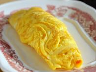Finished Omelet is Ready to Enjoy