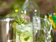 Miami Mojito is Rum Sparkler Infused with Mint