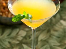 Cooking Channel serves up this Grand Mojito Martini recipe  plus many other recipes at CookingChannelTV.com