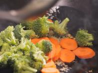 Add Aromatics to Wok Before Adding Vegetables