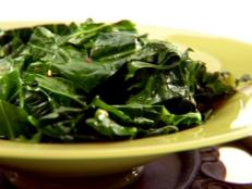 Cooking Channel serves up this Spicy Collard Greens recipe from Daisy Martinez plus many other recipes at CookingChannelTV.com