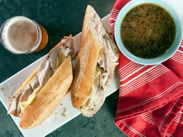 Slow-Cooker Turkey Sandwich