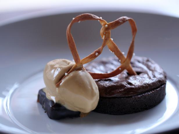 Chocolate Souffle Tart