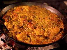 Cooking Channel serves up this Paella Valenciana recipe  plus many other recipes at CookingChannelTV.com