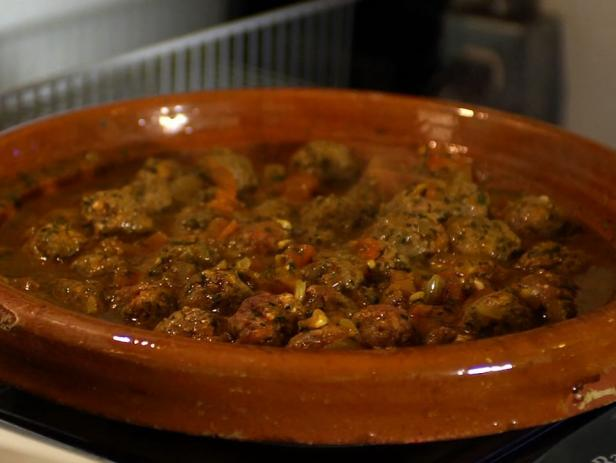 Morrocan Egg and Meatball Tagine