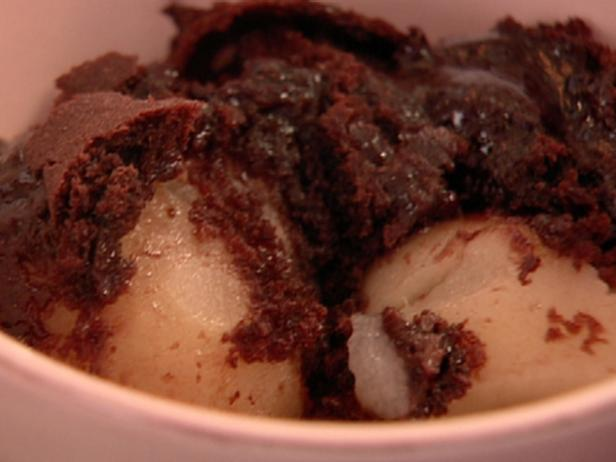 Chocolate Pear Pudding