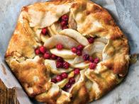 Free-Form Apple-Pear-Cranberry Tart