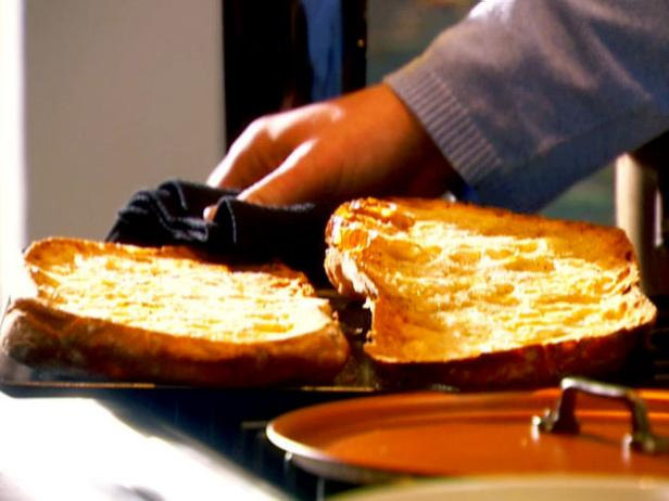 Toasted Peasant Bread