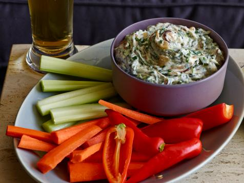 Caramelized Onion Spinach Dip