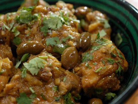 Chicken Tagine with Olives and Citron Confit