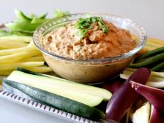 Cooking Channel serves up this Ginger Almond Eggplant Dip recipe from Bal Arneson plus many other recipes at CookingChannelTV.com