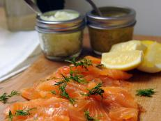 Cooking Channel serves up this Gravlax recipe from Chuck Hughes plus many other recipes at CookingChannelTV.com