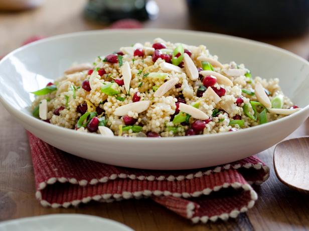Pomegranate quinoa pilaf recipes cooking channel recipe kelsey pomegranate quinoa pilaf forumfinder