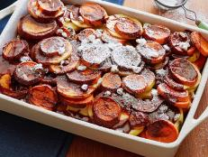 Cooking Channel serves up this Sweet Potato and Apple Casserole recipe from G. Garvin plus many other recipes at CookingChannelTV.com
