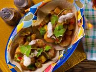 Grilled Shrimp Tacos with Tropical Salsa