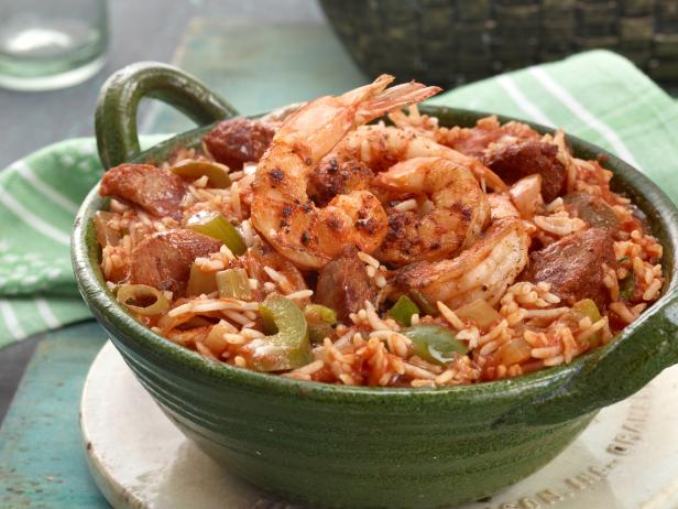 Jambalaya with Shrimp and Andouille