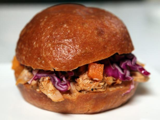 Pulled Chicken with Bourbon BBQ