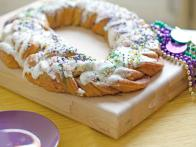 A Real-Deal Mardi Gras King Cake