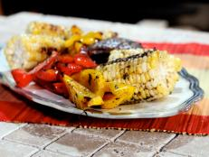 Cooking Channel serves up this Spiced Grilled Vegetables recipe from Bal Arneson plus many other recipes at CookingChannelTV.com
