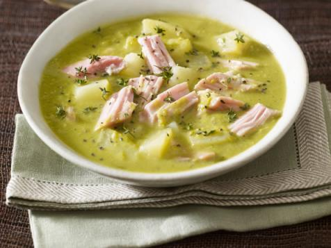 Pea, Ham, and Potato Soup