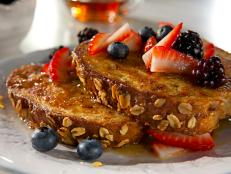 Cooking Channel serves up this Healthy French Toast recipe  plus many other recipes at CookingChannelTV.com