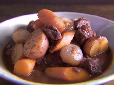 Lamb Stew with Cipolline Onions and Potatoes