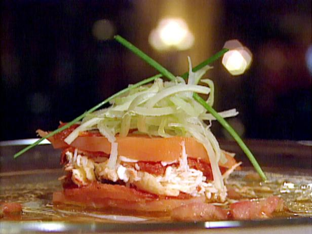 Smoked Wild Irish Salmon Millefeuille