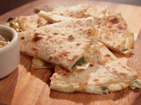 Three Cheese Quesadillas
