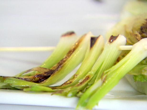 Grilled Scallion Skewers
