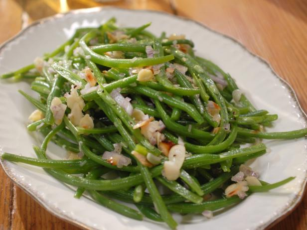 how to cook blanched green beans