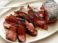 Cowboy Steak with Coffee and Chili Rub