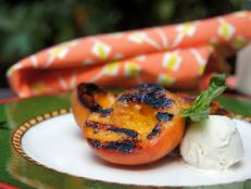 Cooking Channel serves up this Grilled Peaches recipe  plus many other recipes at CookingChannelTV.com