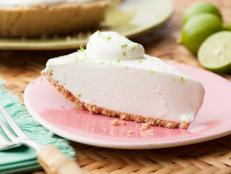Cooking Channel serves up this Terry's Famous Homemade Key Lime Pie recipe  plus many other recipes at CookingChannelTV.com