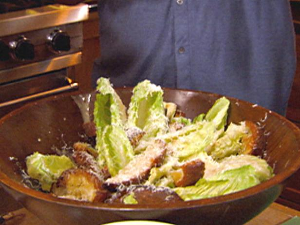 Whole Leaf Caesar Salad