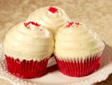 Cooking Channel serves up this Red Velvet Cupcakes recipe  plus many other recipes at CookingChannelTV.com