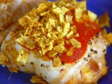 Cooking Channel serves up this Nacho-rific Stuffed Chicken recipe  plus many other recipes at CookingChannelTV.com