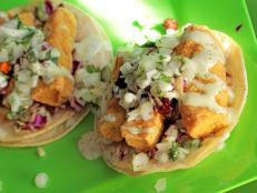 Cooking Channel serves up this Yayo's Mahi Mahi Fish Tacos recipe  plus many other recipes at CookingChannelTV.com