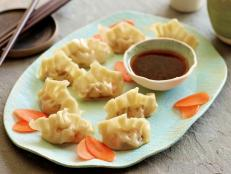 Cooking Channel serves up this Seafood and Chive Dumplings recipe from Ching-He Huang plus many other recipes at CookingChannelTV.com