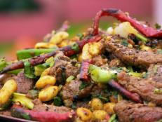 Cooking Channel serves up this Kung Pao Beef recipe from Ching-He Huang plus many other recipes at CookingChannelTV.com