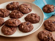 Cooking Channel serves up this Triple Chocolate Cookies recipe from Ellie Krieger plus many other recipes at CookingChannelTV.com