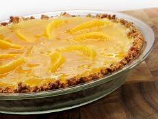 Cooking Channel serves up this Pretzel Peach Jell-O Pie recipe  plus many other recipes at CookingChannelTV.com