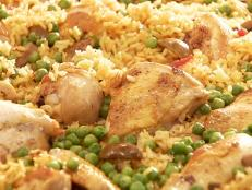 Cooking Channel serves up this Chicken with Rice (Arroz con Pollo) recipe from Daisy Martinez plus many other recipes at CookingChannelTV.com