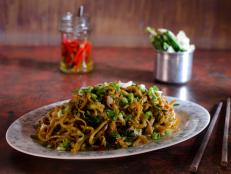 Cooking Channel serves up this Dali Vegetarian Rice Noodle Stir Fry recipe  plus many other recipes at CookingChannelTV.com
