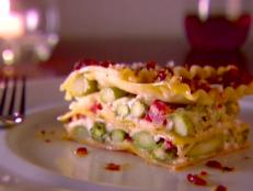 Cooking Channel serves up this Asparagus Lasagna recipe from Giada De Laurentiis plus many other recipes at CookingChannelTV.com