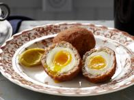 Scotch Egg with Curry Mayo