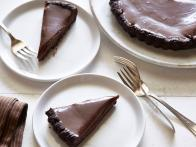 Double Chocolate Malted Tart