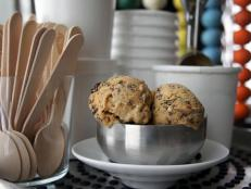 Cooking Channel serves up this Pumpkin Stracciatella Gelato recipe  plus many other recipes at CookingChannelTV.com