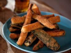 Cooking Channel serves up this Fried Zucchini recipe from Alexandra Guarnaschelli plus many other recipes at CookingChannelTV.com