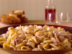 Cooking Channel serves up this Orechiette with Sausage, Beans, and Mascarpone recipe from Giada De Laurentiis plus many other recipes at CookingChannelTV.com